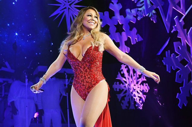 Jeff Kravitz/FilmMagic for Mariah Carey Mariah Carey performs during the opening show of 'Mariah Carey: All I Want For Christmas Is You' at Beacon Theatre on Dec. 5, 2016 in New York City.