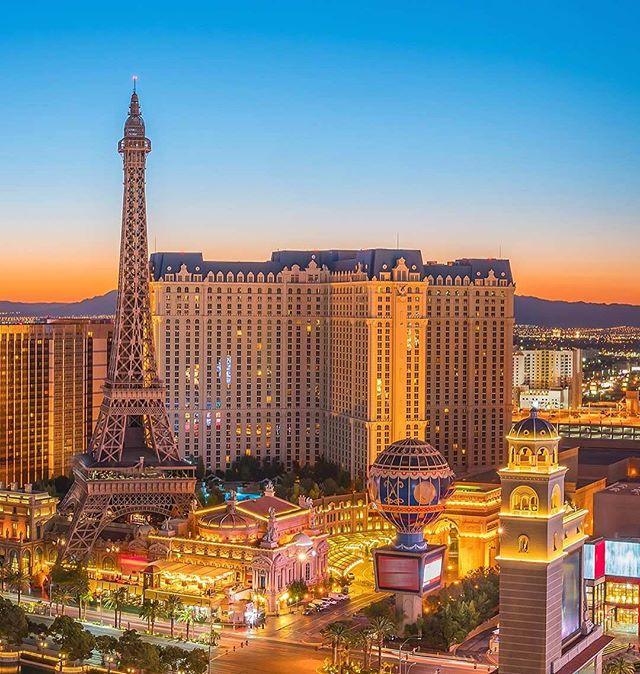 A vibrant city on the Las Vegas Strip, Paris Las Vegas