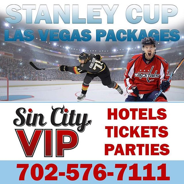 Congrats #WashingtonCapitals , time to make plans for #LasVegas !!! Contact Sin City VIP for #ALLCAPS specials for #StanleyCup hotels, parties and game tickets! #LetsGoCaps #capsfan #capitals #RockTheRed