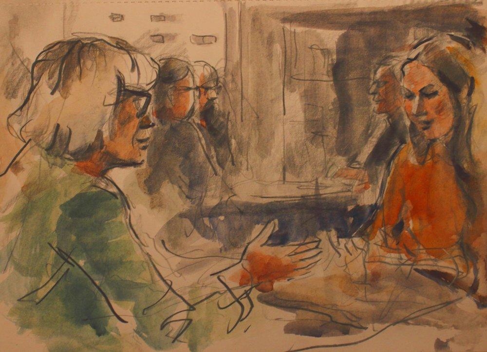 Art Teachers and Student