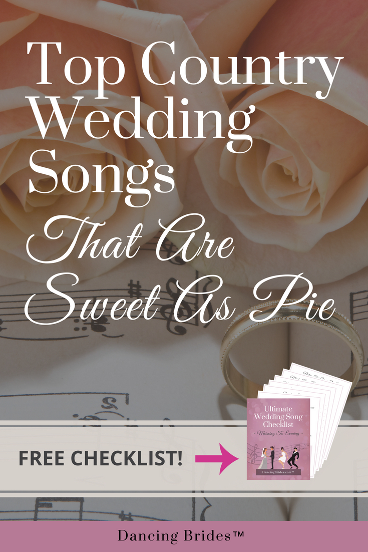 top country wedding songs that are sweet as pie dancing brides