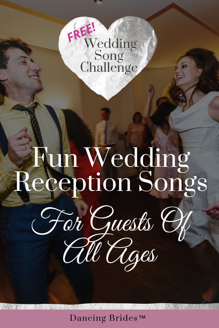 fun wedding reception songs for guests of all ages dancing brides