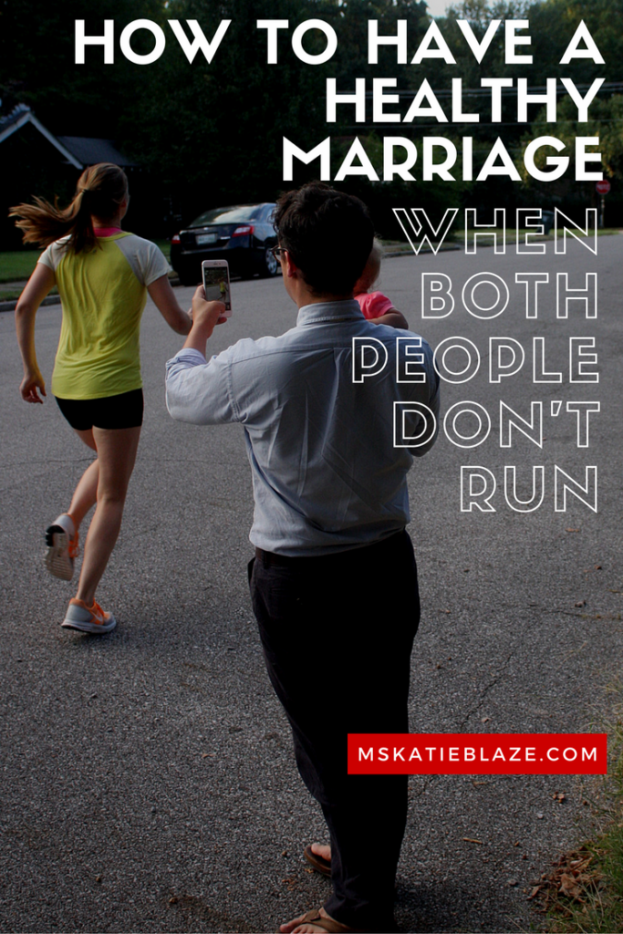 healthy marriage running