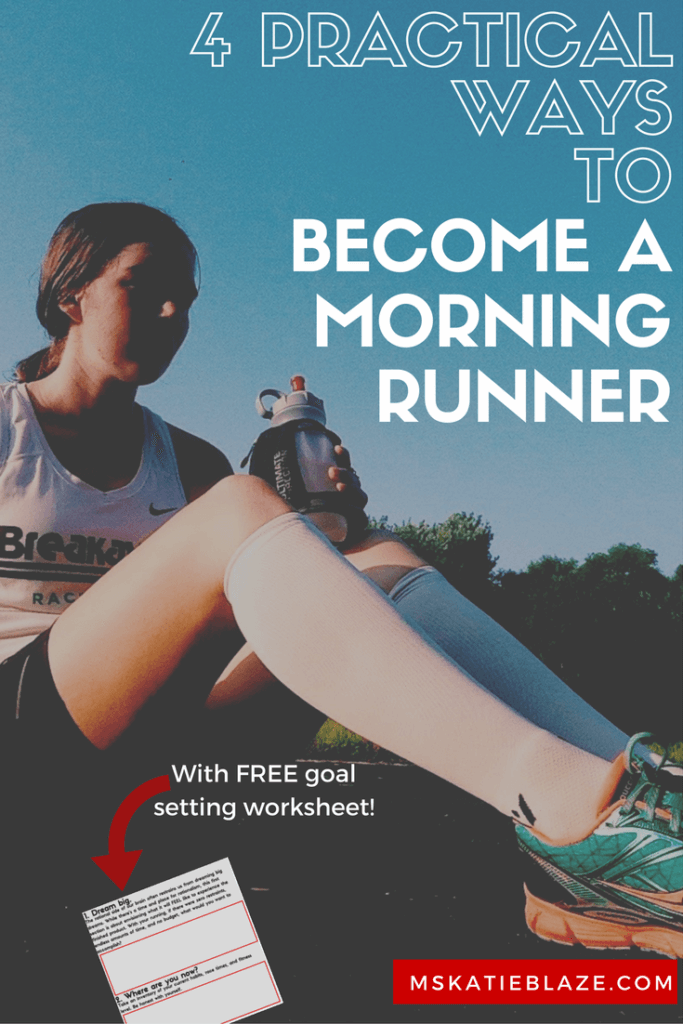 The feeling of satisfaction when it's 8 am and your workout is done for the day. There's nothing better! Learn how to finally become a morning runner!