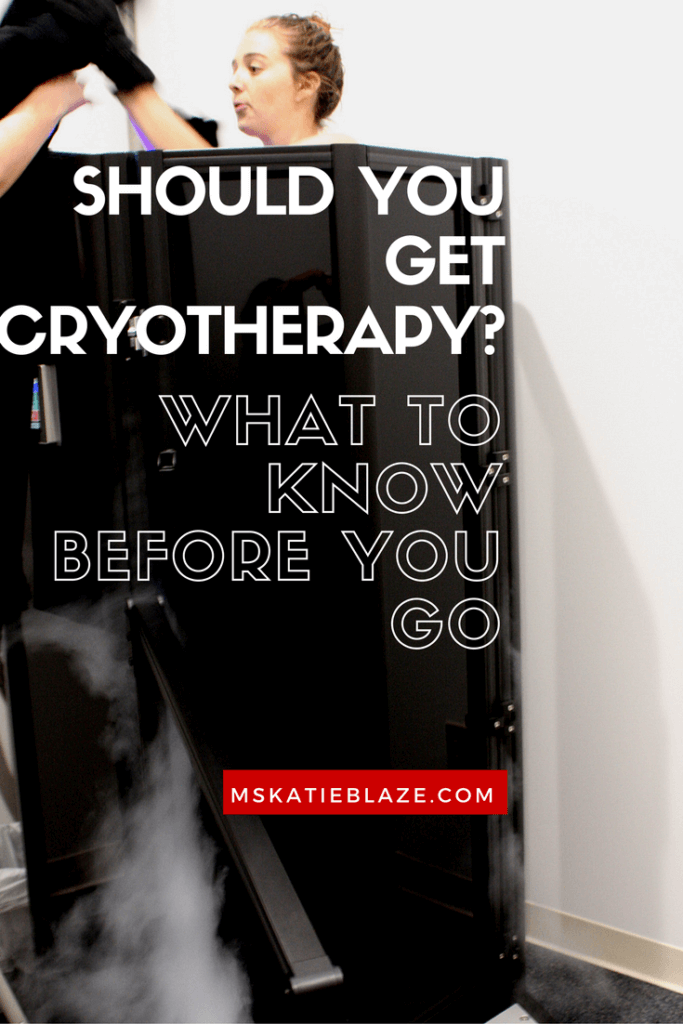cryotherapy | running | marathon training | running plan | recover from running