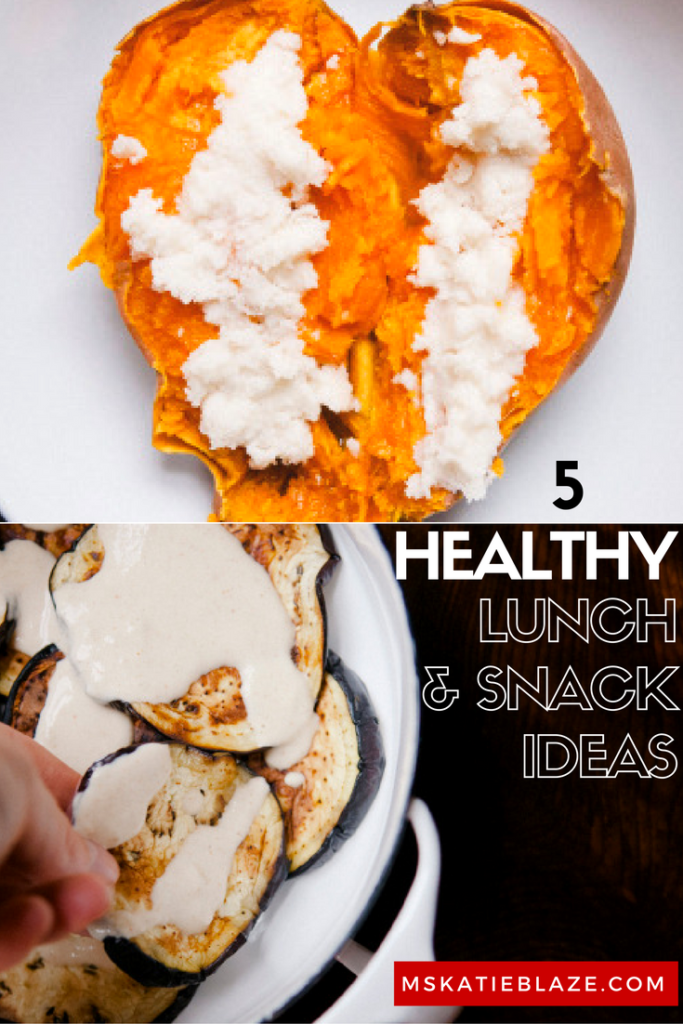 healthy snack ideas lunch ideas