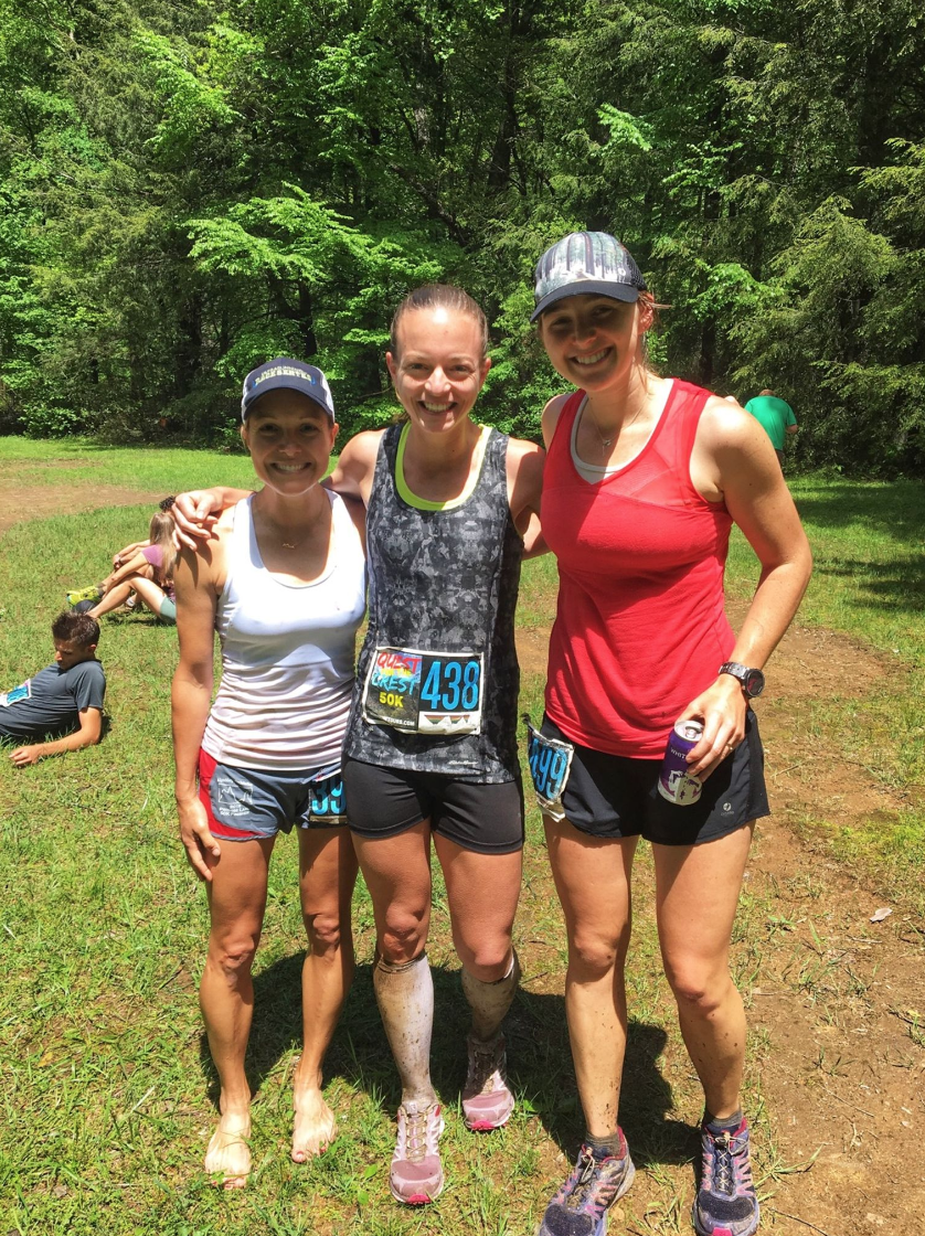 Shannon (2nd female), Amanda (1st female), Me