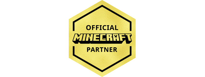 Official Minecraft Partner Badge Mediumwide.png