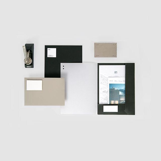 La papelería para hub architects