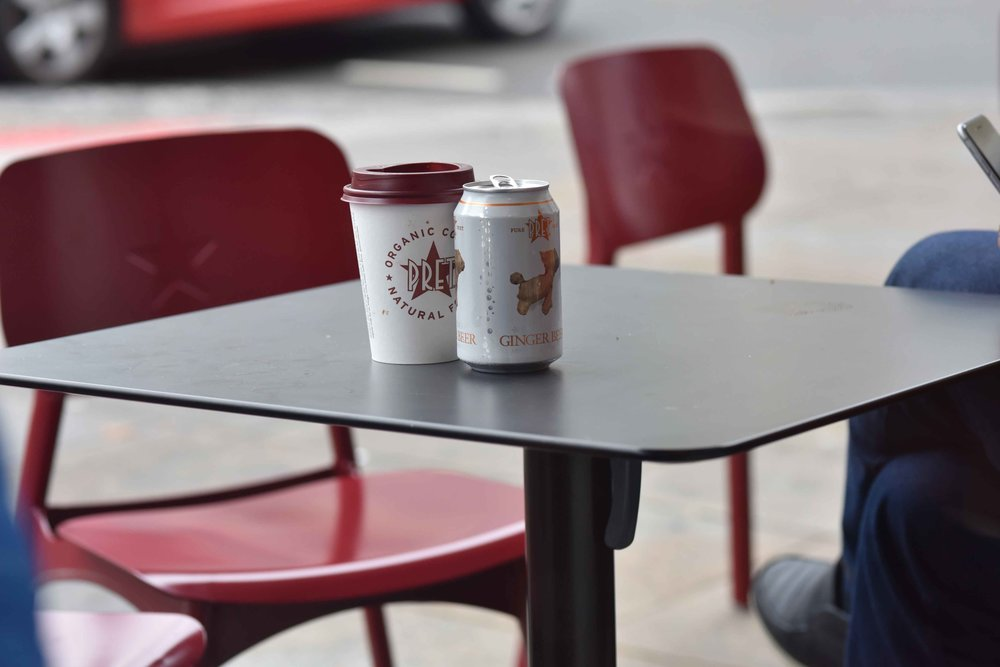 Pret A Manger, London, U.K. Image©thingstodot.com