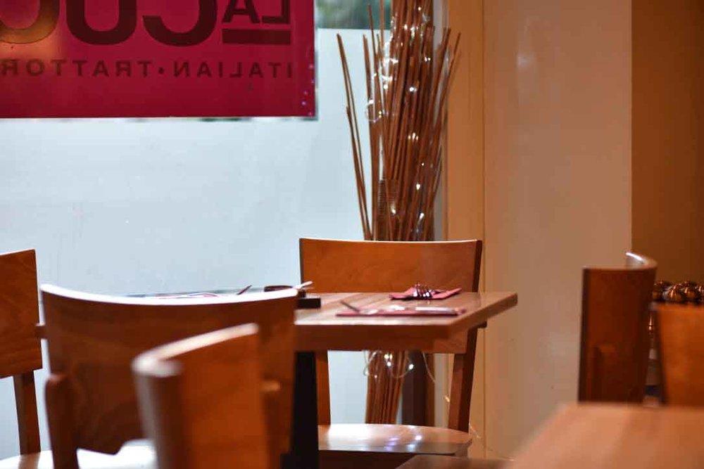 La Cucina, trattoria, pizzeria, Italian restaurant, Oxford, U.K. Image©thingstodot.com