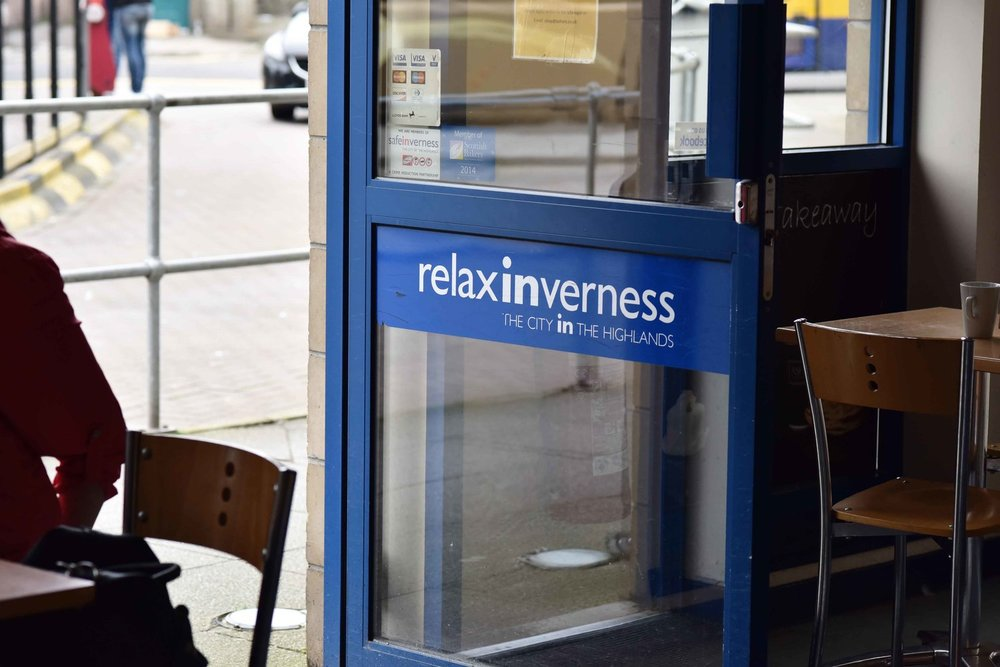 Inverness bus station, Inverness, Scotland. Image©thingstodot.com