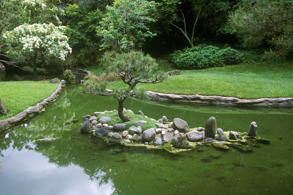 Japanese Gardens at Huntington Gardens. Editorial credit: Joseph Sohm / Shutterstock.com
