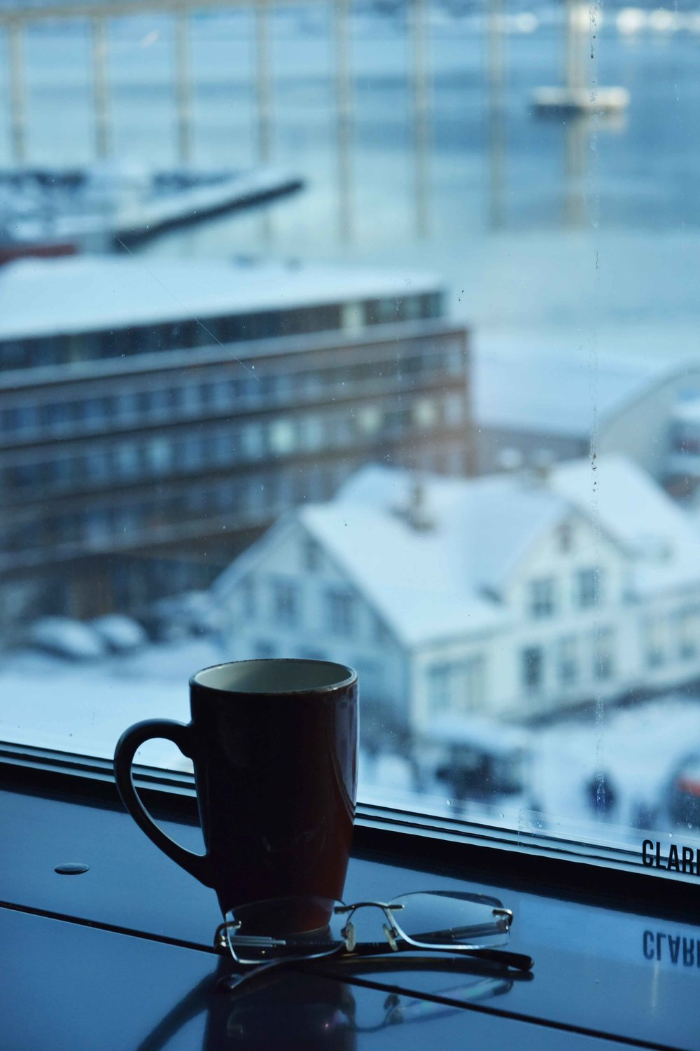 Views from the room, Clarion Hotel the Edge, Tromso, Norway. Image©thingstodot.com