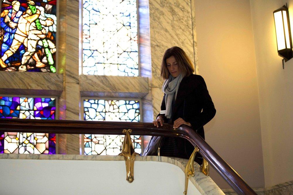 Stain glass,Sofitel Legend Amsterdam The Grand. Photo: Fabio Ricci. Image©thingstodot.com