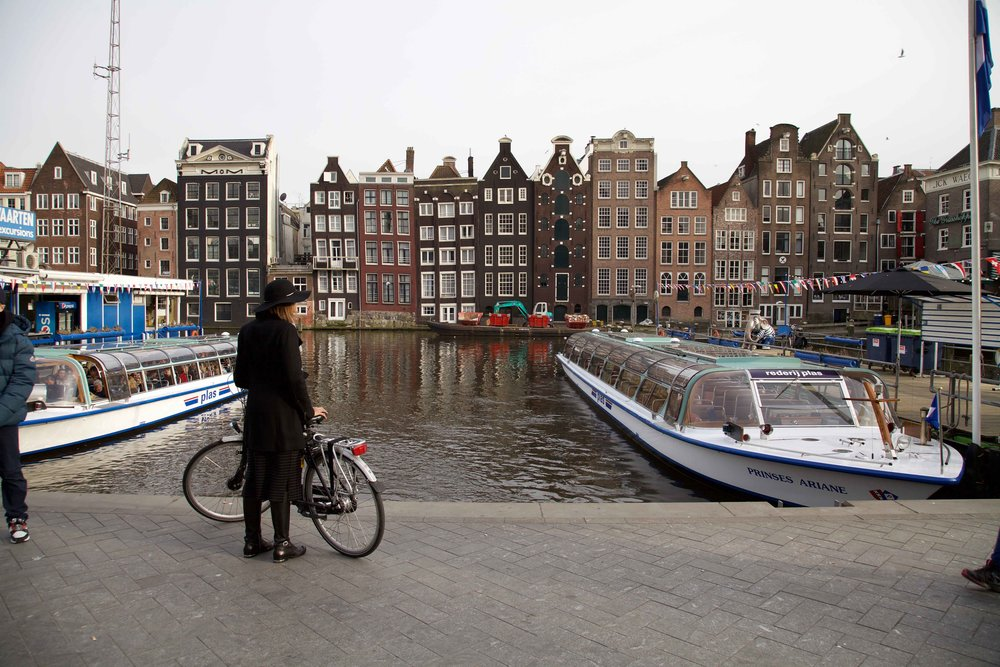 Amsterdam at sunset. Photo: Fabio Ricci. Image©thingstodot.com