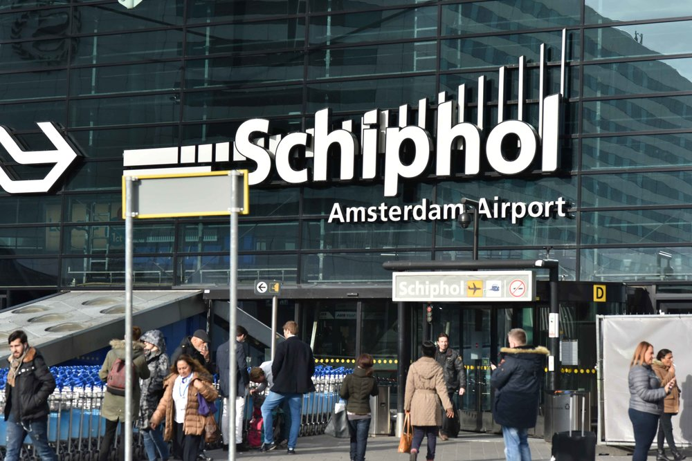 Schiphol airport, Amsterdam. Photo: Gunjan Virk. Image©thingstodot.com