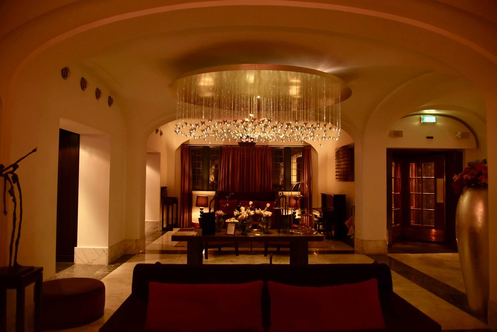 Sofitel Legend Amsterdam The Grand, lobby. Image©thingstodot.com
