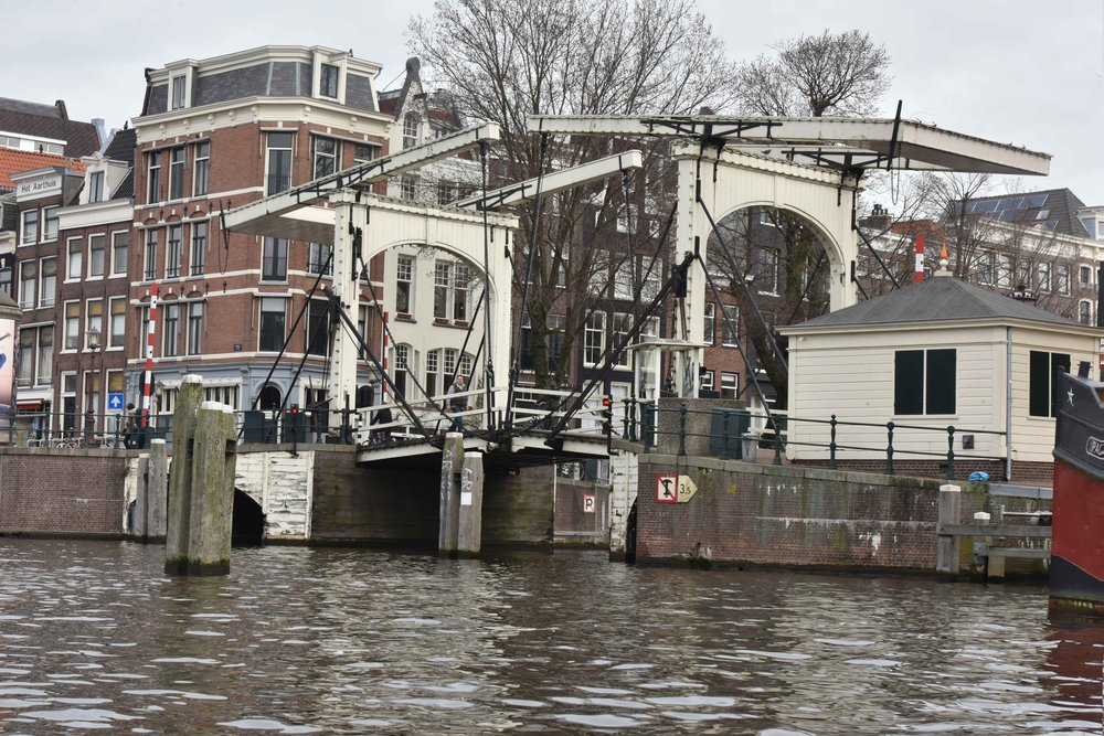 The Skinny Bridge or the Magere Brug, Amsterdam. Image©thingstodot.com