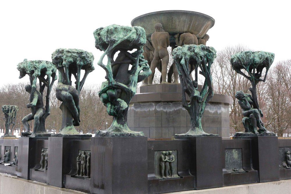 Vigeland Sculpture Park, Oslo, Norway. Photo: Oslo Photo Tour. Image©thingstodot.com