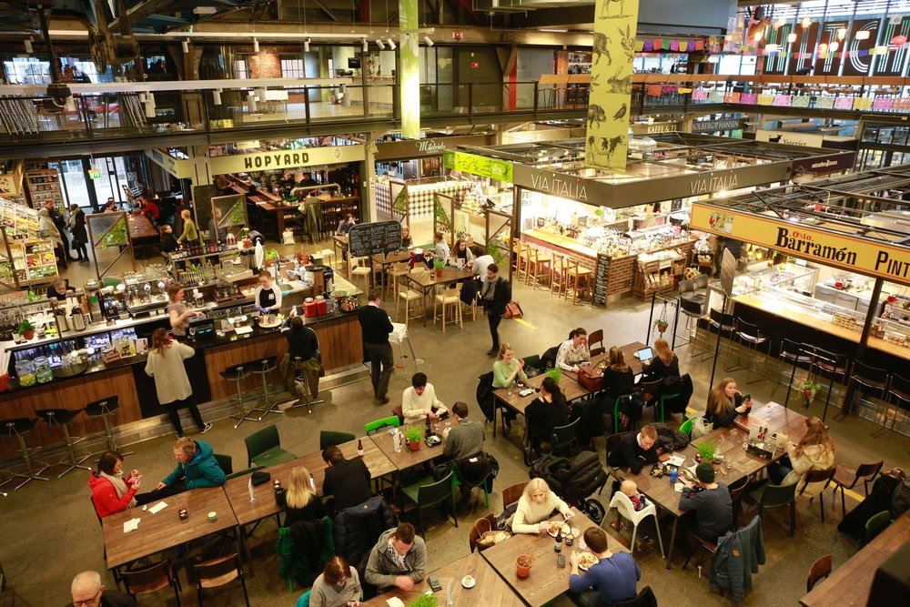 Mathallen, food court, Oslo, Norway. Photo: Oslo Photo Tour. Image©thingstodot.com