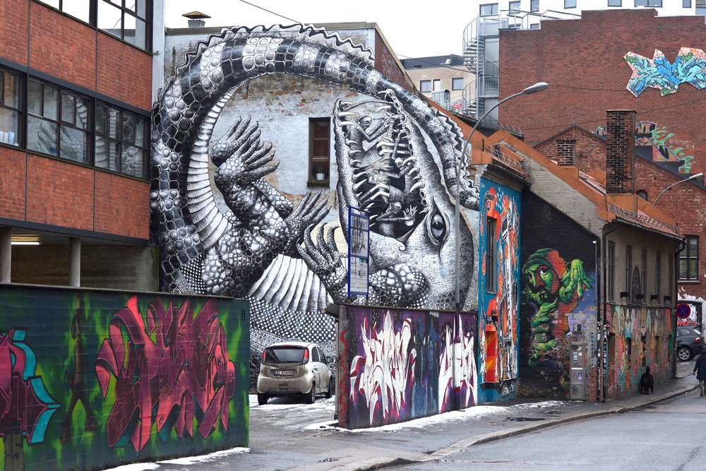 Street Art, Oslo. Photo: Oslo Photo Tour. Image©thingstodot.com