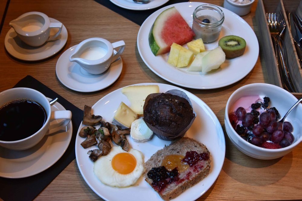 The Grand Hotel, Oslo, Norway, buffet breakfast. Image©thingstodot.com