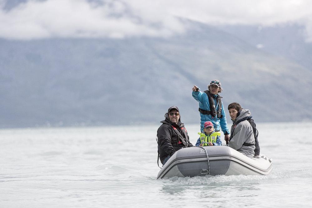 Graham Austick,Ski tour, Lyngen Alps, Norway. Image©lyngenlodge