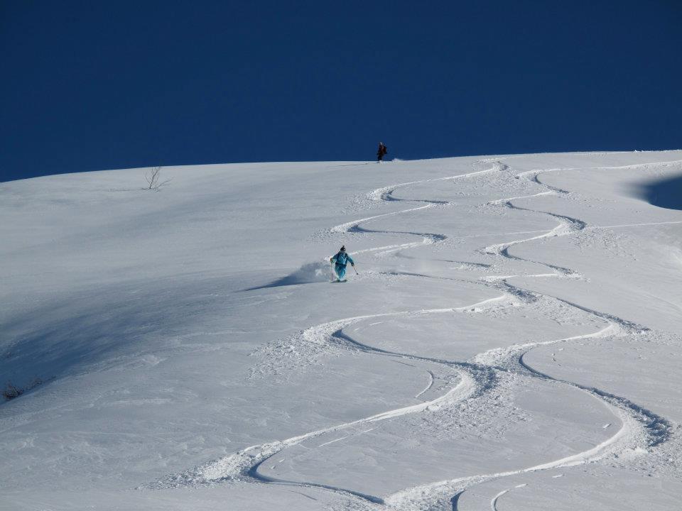 Graham Austick, Ski tour, Lyngen Alps, Norway. Image©lyngenlodge