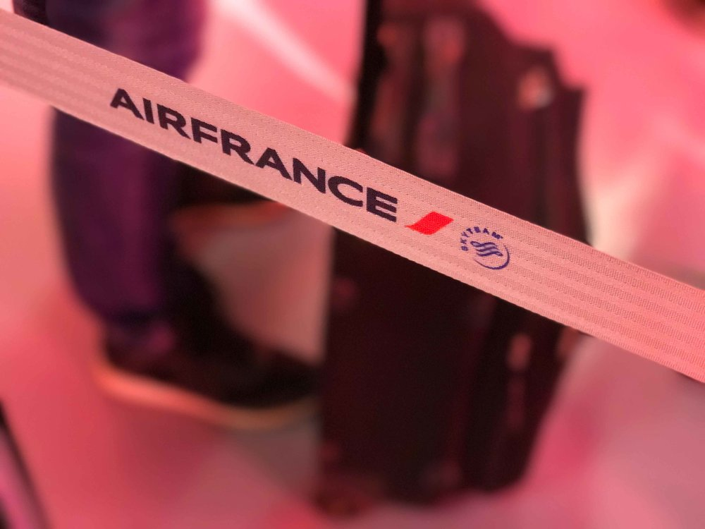 Air France boarding. Image©thingstodot.com