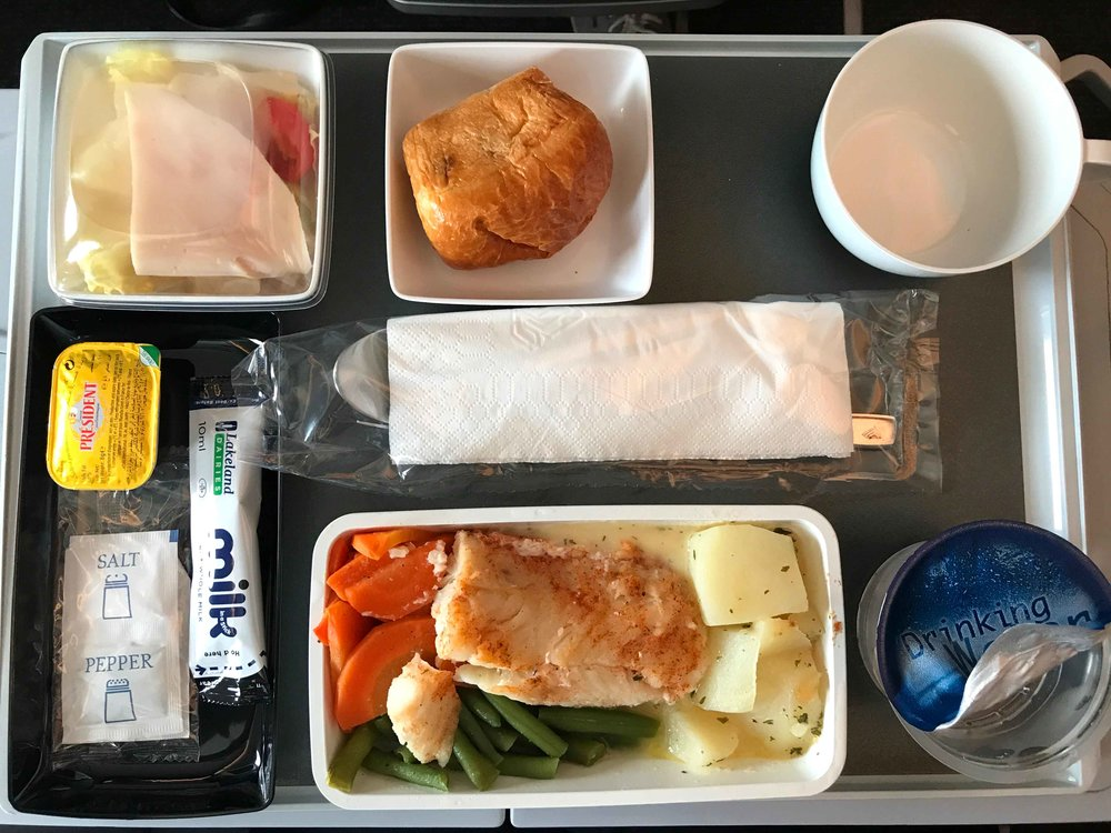 Singapore Air, in-flight meal. Image©thingstodot.com