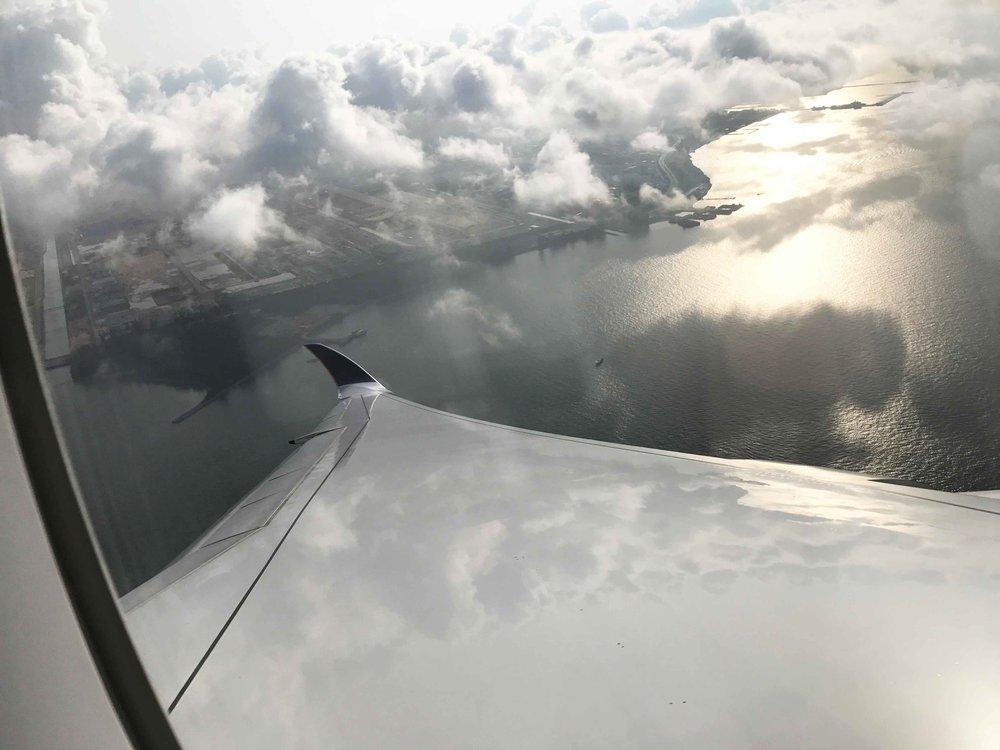 Singapore Air, Singapore to Tokyo. Image©thingatodot.com