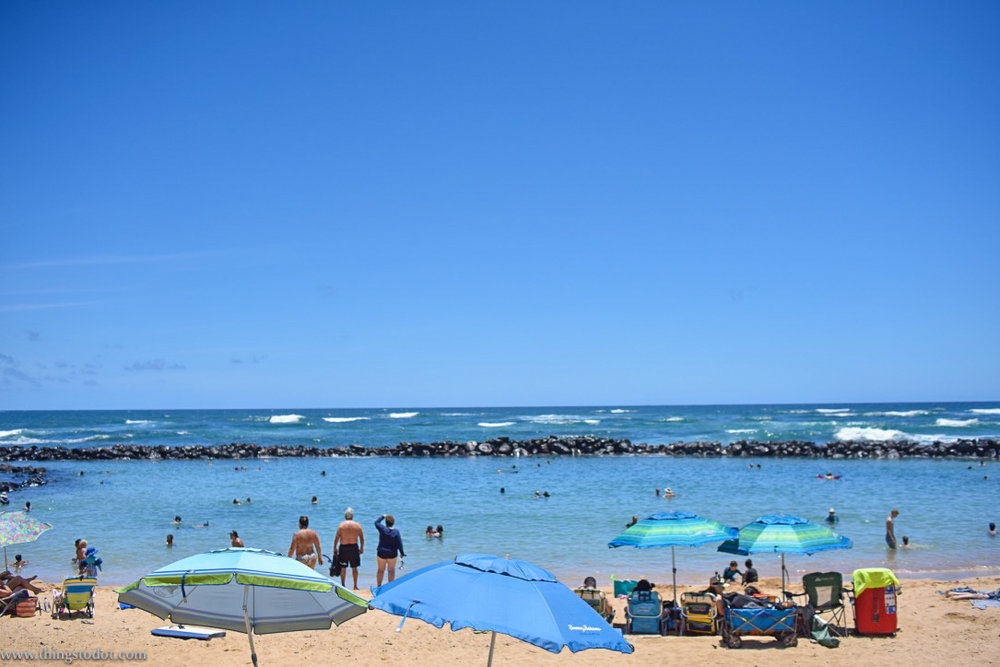 Lydgate Beach Park, Kauai, Hawaii. Image@www.thingstodot.com