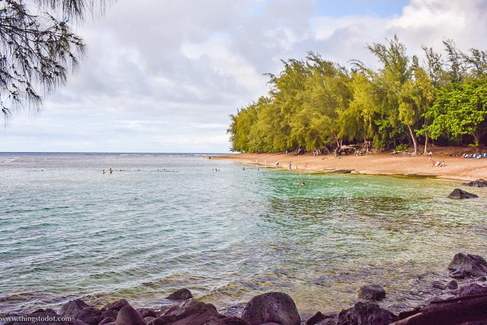 Ke'e beach, Kauai, Hawaii.Image©www.thingstodot.com