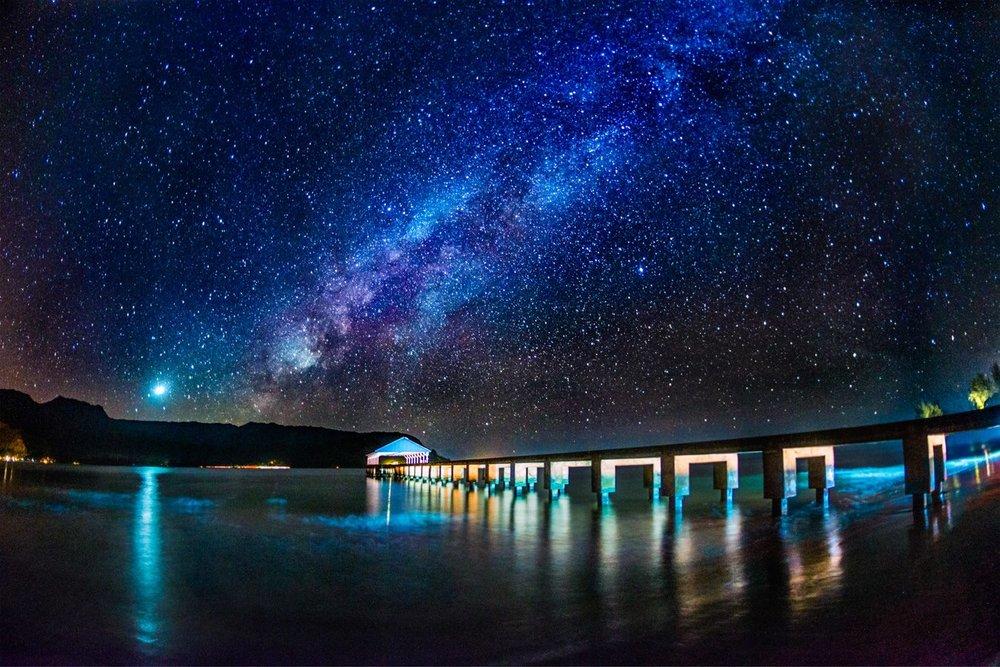 Hanalei Pier, Kauai, Hawaii. Photo: Patrick Kelley, www.pk-worldwide.com. Image©www.pk-worldwide.com.