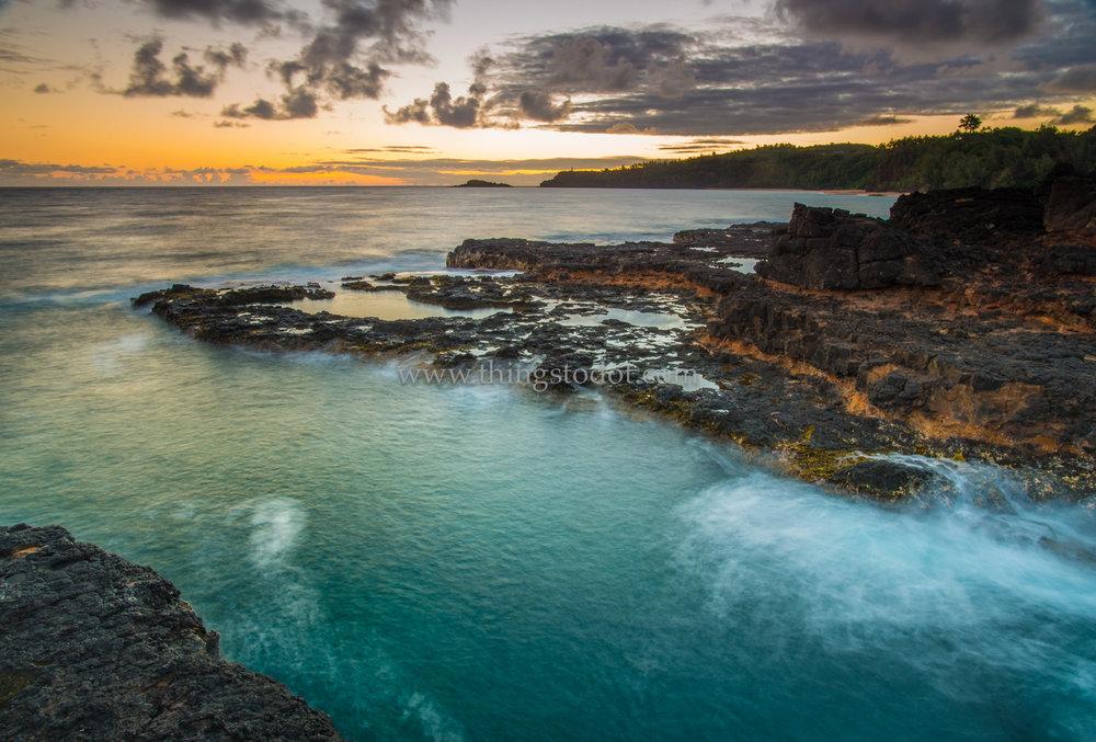Secret Beach, Kauai, Hawaii.