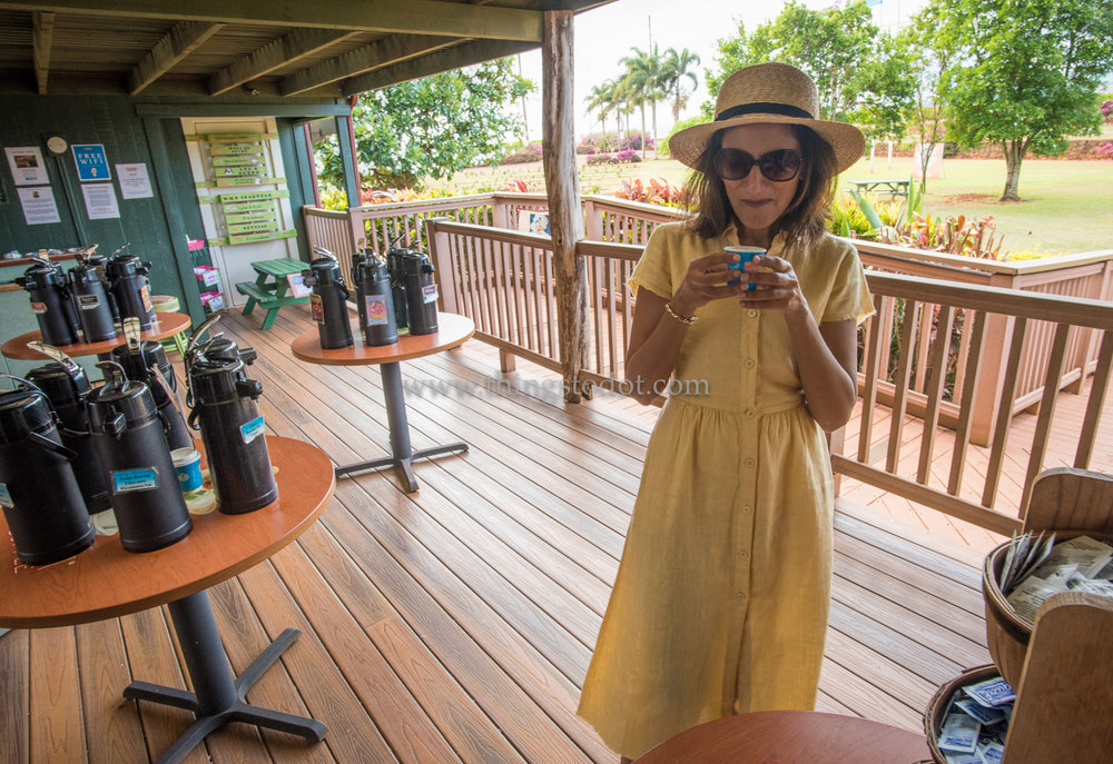 Kauai Coffee Company, Kauai, Hawaii.