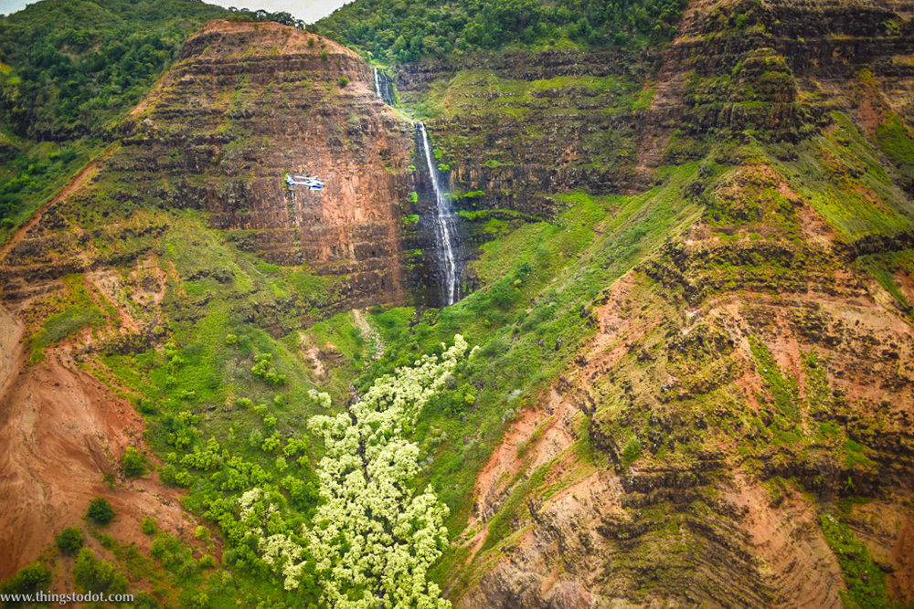 Waimea Canyon, Kauai, Garden Island, Hawaii. Photo: Gunjan Virk. Image©www.thingstodot.com.