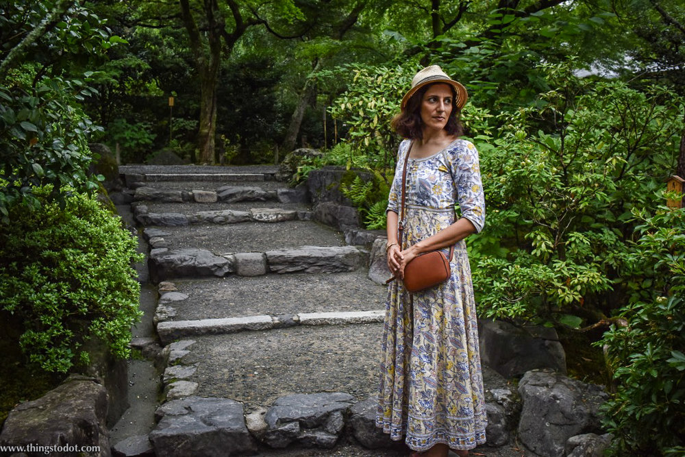 Anokhi cotton dress, Kyoto, Japan. Image©www.thingstodot.com