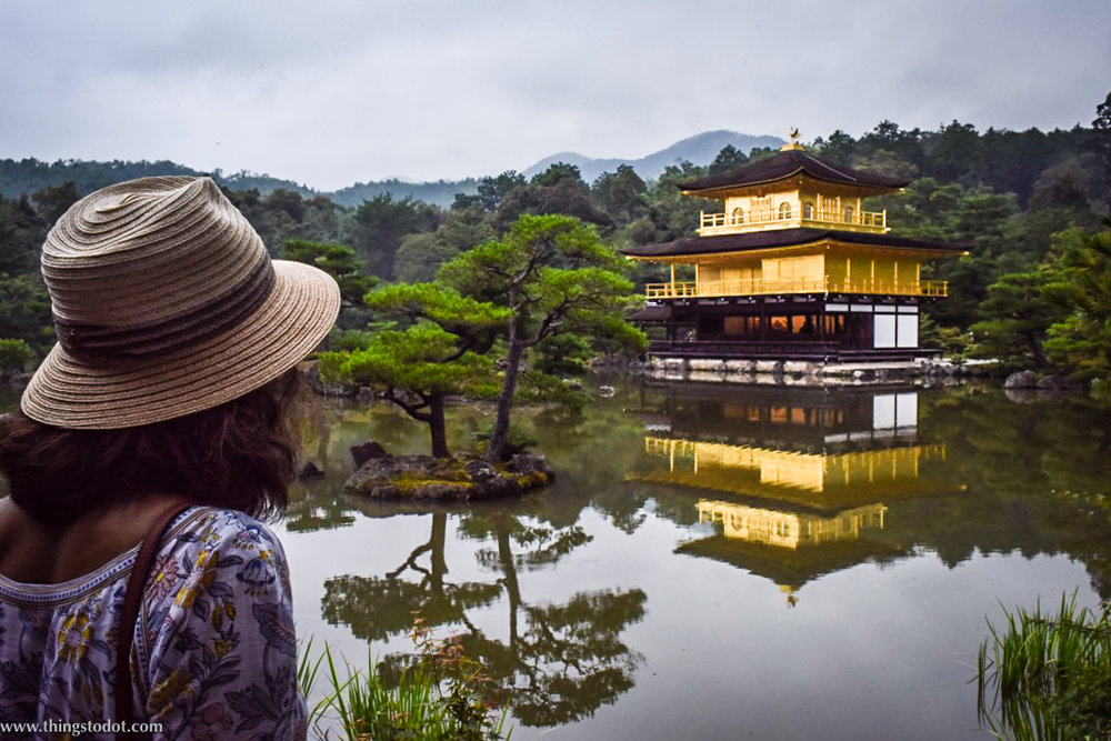Kinkaku-ji, Golden Pavilion, Zen Buddhist Temple, UNESCO World Heritage Site, Kyoto, Japan. Image©www.thingstodot.com
