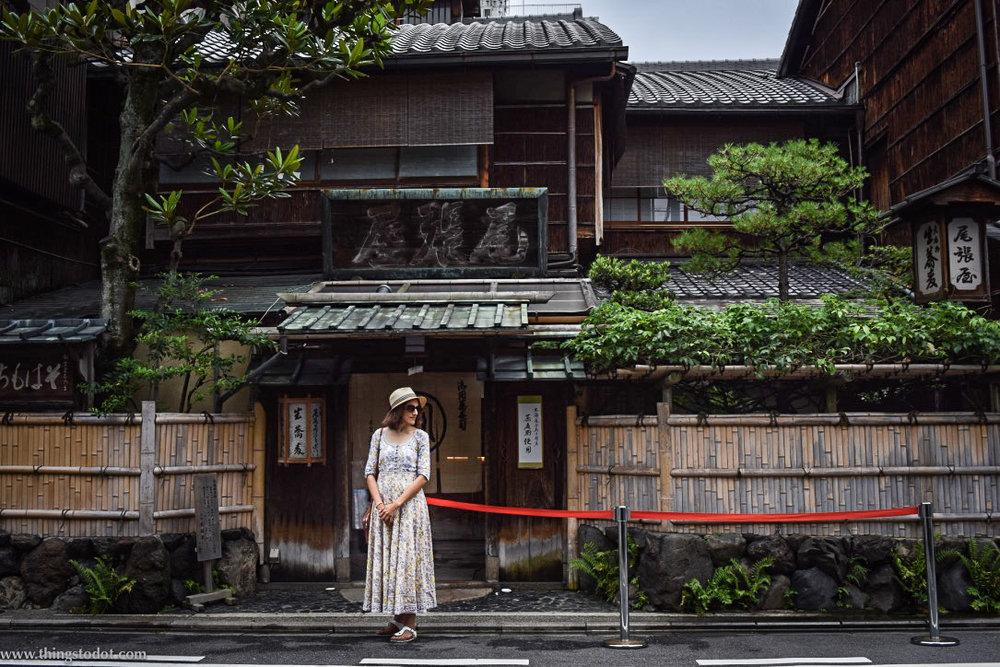 Honke Owariya, soba restaurant, Kyoto, Japan. Image©www.thingstodot.com.