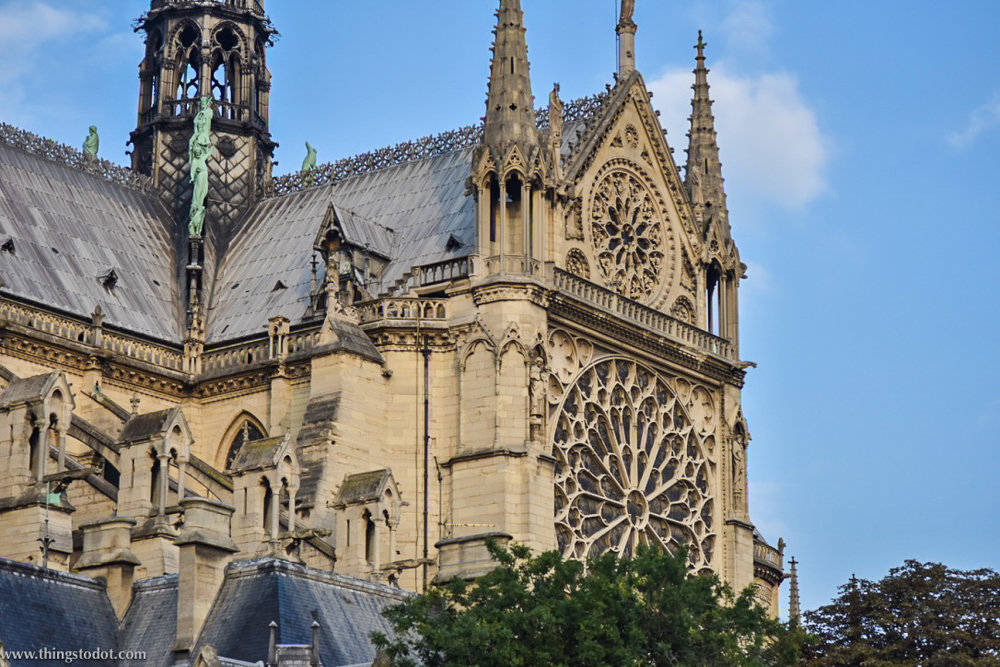Notre-Dame Cathedral, Paris, France. Image©www.thingstodot.com.