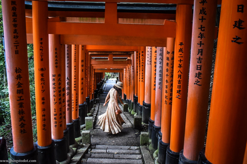 Image result for fushimi inari shrine