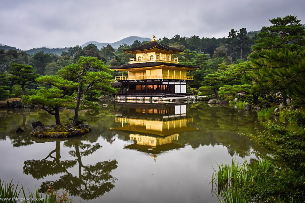 Kinkaku-ji, Kyoto, Japan. Image©www.thingstodot.com
