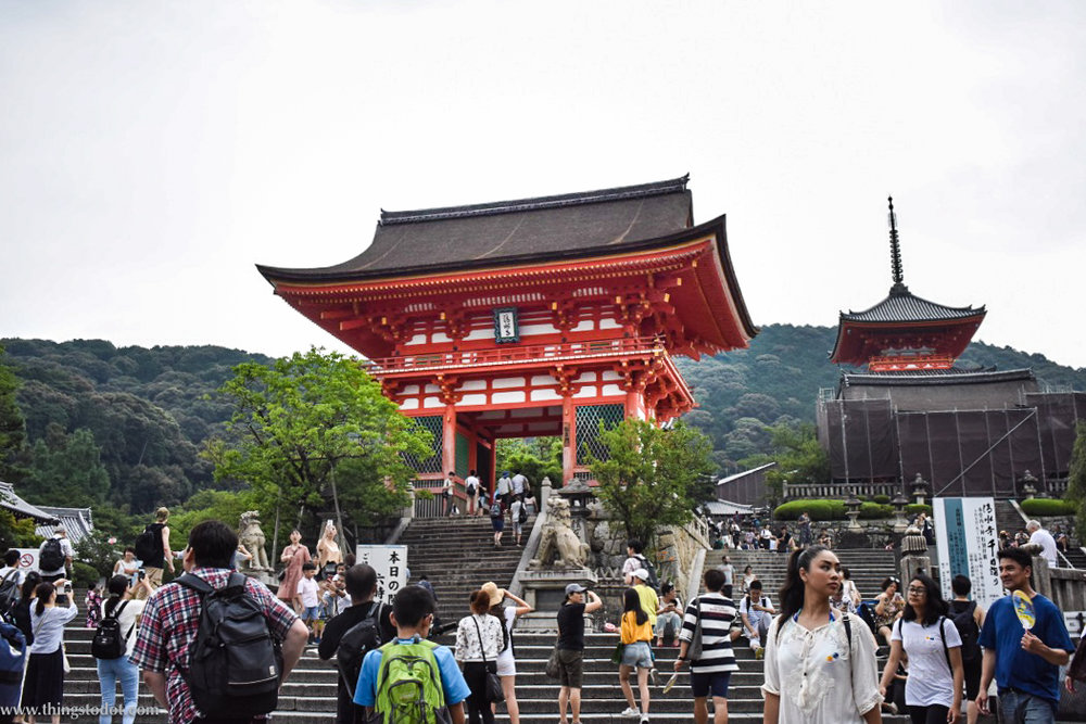 Kiyomizu Dera, Kyoto, Japan. Image©www.thingstodot.com.