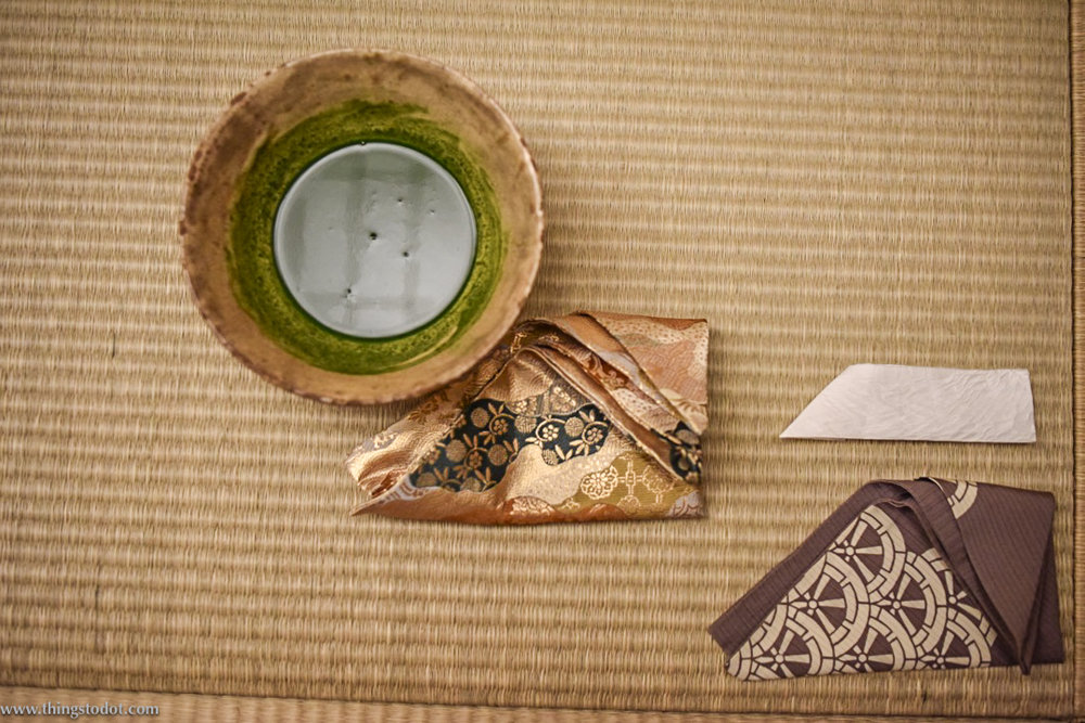 Tea Ceremony, matcha tea, Kyoto, Japan. Image©www.thingstodot.com
