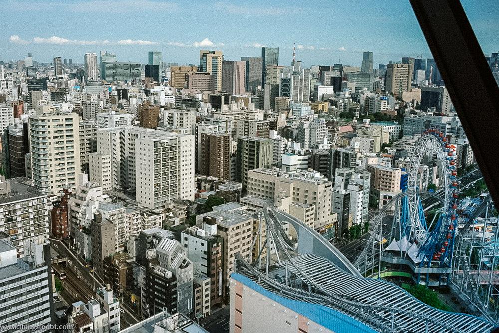 Tokyo panoramic view,Bunkyo Civic Center, Tokyo, Japan. Image©www.thingstodot.com.