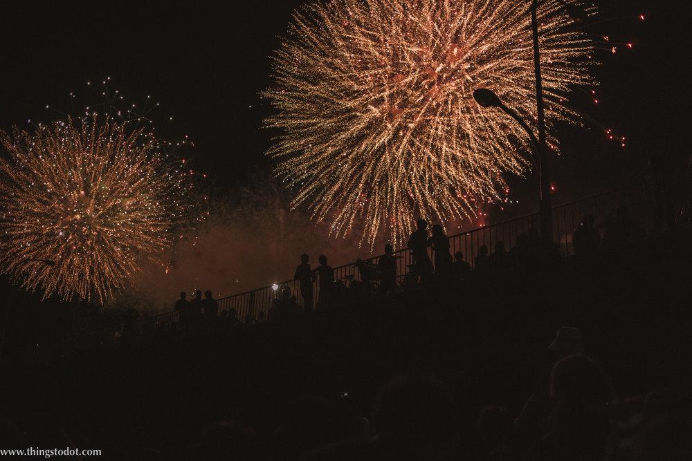 Adachi Fireworks,Arakawa river, Tokyo, Japan. Image©www.thingstodot.com.
