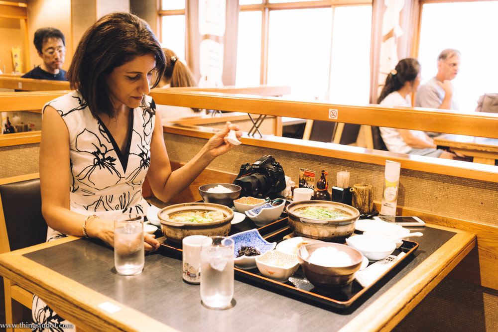 Chanko Nabe,sumo food,Tomoegata Restaurant,Ryogoku, Tokyo, Japan. Image©www.thingstodotcom.