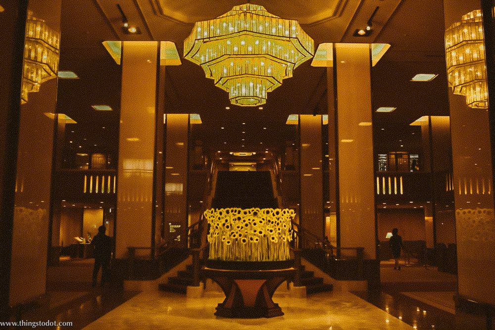 Lobby, Imperial Hotel, Tokyo, Japan. Image©www.thingstodot.com